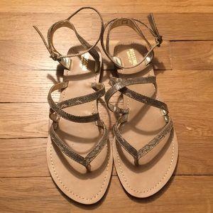 Mossimo size 8 snake skin gladiator sandal